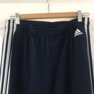 Navy Blue Adidas Track Pants